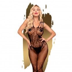 CATSUIT DIRTY MIND PENTHOUSE PRETO